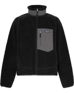Classic Retro-x Shell-trimmed Fleece Jacket