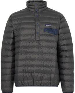 Snap-t Quilted Dwr-coated Ripstop Shell Down Pullover
