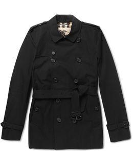 Kensington Short-length Cotton Trench Coat