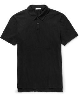 Slim-fit Supima Cotton-jersey Polo Shirt