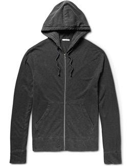 Loopback Supima Cotton-jersey Zip-up Hoodie