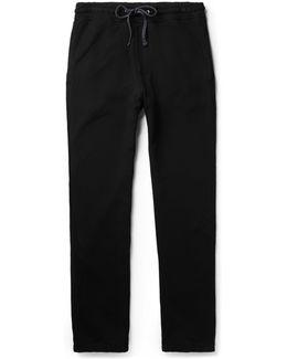 Loopback Supima Cotton-jersey Sweatpants