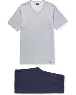 Night And Day Cotton-jersey Pyjama Set