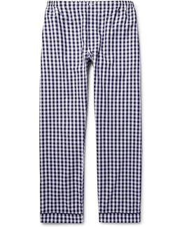 Marcel Gingham Cotton Pyjama Trousers