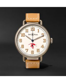 Ww1-92 45mm Steel And Leather Watch