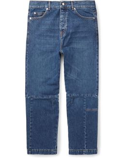 Cropped Recycled Denim Jeans