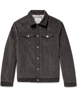 Padded Cotton-corduroy Jacket
