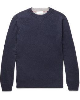 Mélange Virgin Wool, Cashmere And Silk-blend Sweater