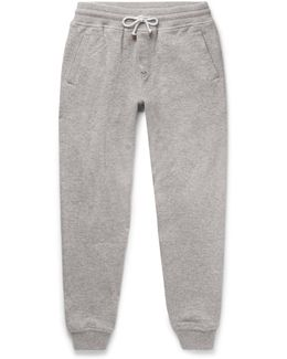 Slim-fit Tapered Cashmere-blend Sweatpants