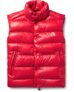 Tib Quilted Shell Down Gilet