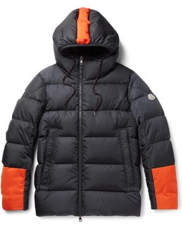 Drake Quilted Shell Hooded Down Jacket