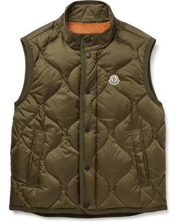 Canut Quilted Shell Down Gilet