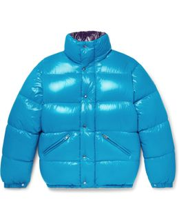 Dejan Quilted Shell Hooded Down Jacket
