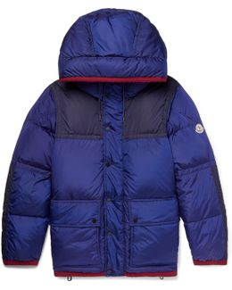 Empire K2 Panelled Quilted Shell Down Jacket