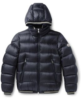 Jeanbart Quilted Shell Hooded Down Jacket