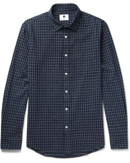 Dexter Checked Cotton-flannel Shirt