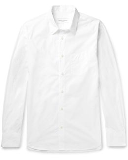 Benoit Cotton-poplin Shirt