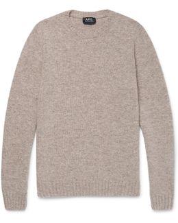 Mélange Wool Sweater