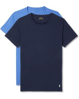 Two-pack Stretch-cotton Jersey T-shirts