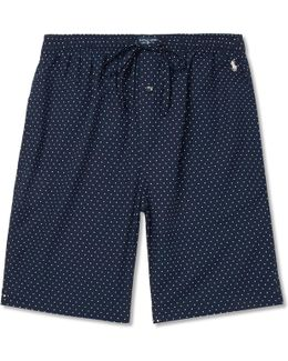 Polka-dot Cotton Pyjama Shorts