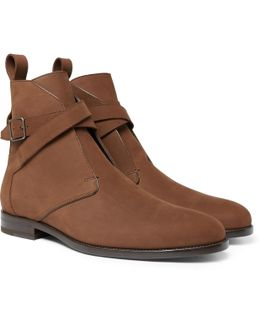 Dare Nubuck Jodhpur Boots