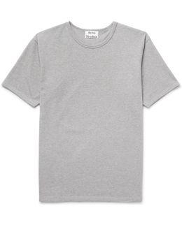 Niagara Mélange Cotton-piqué T-shirt