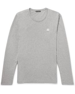 Nash Mélange Cotton-jersey T-shirt