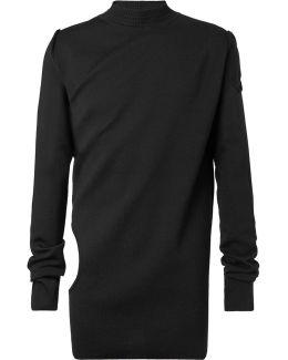 Cutout Virgin Wool Sweater