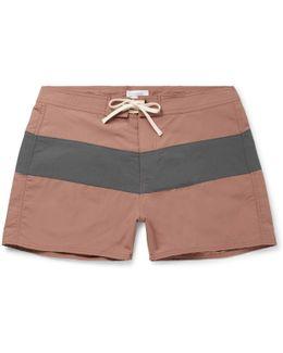 Grant Short-length Colour-block Swim Shorts