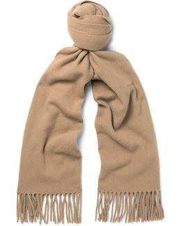 Canada Narrow Virgin Wool Scarf