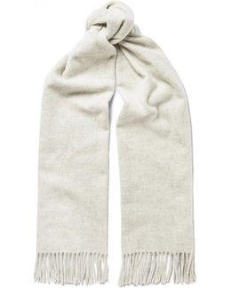 Canada Narrow Mélange Virgin Wool Scarf