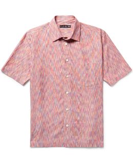 Patterned Cotton-blend Shirt