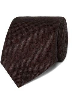 8cm Wool And Silk-blend Tie