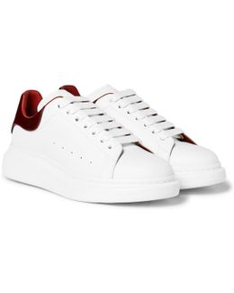 Larry Exaggerated-sole Leather Sneaker
