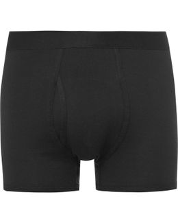 Pima Cotton-jersey Boxer Briefs