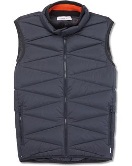 Heaney Quilted Shell Down Gilet