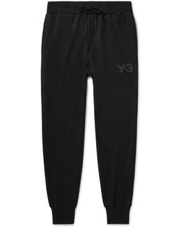 Tapered Printed Jersey Sweatpants