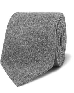 8cm Mélange Wool, Silk And Cashmere-blend Tie