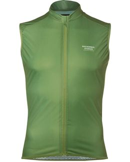 Mechanism Perforated Zip-up Cycling Gilet