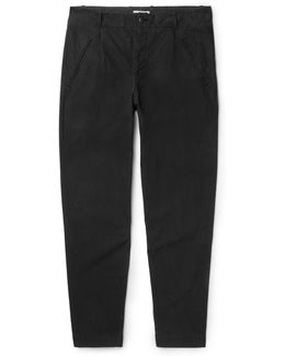 Assembly Tapered Garment-dyed Cotton-ripstop Trousers