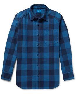 Buffalo Checked Cotton-twill Shirt