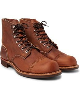 Iron Ranger Oil-tanned Leather Boots