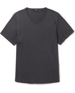 Curve Cotton-jersey T-shirt