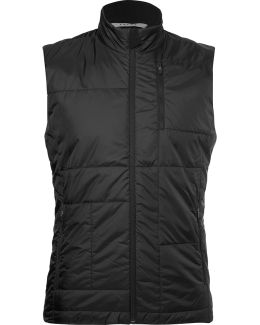 Quilted Shell Running Gilet