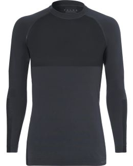 Stretch-jersey Running Top