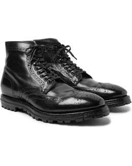 Aspen Canyon Leather Wingtip Brogue Boots