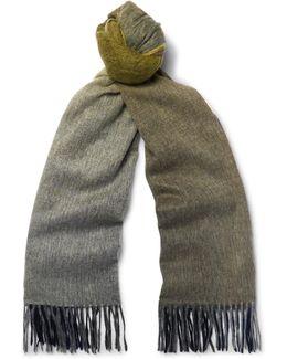Dégradé Wool Scarf