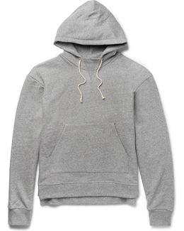 Kake Mock Loopback Cotton-blend Jersey Hoodie