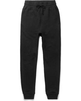 Ebisu Slim-fit Tapered Loopback Cotton-jersey Sweatpants