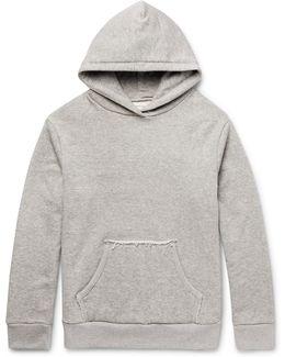 Mazunte Loopback Cotton-jersey Hoodie